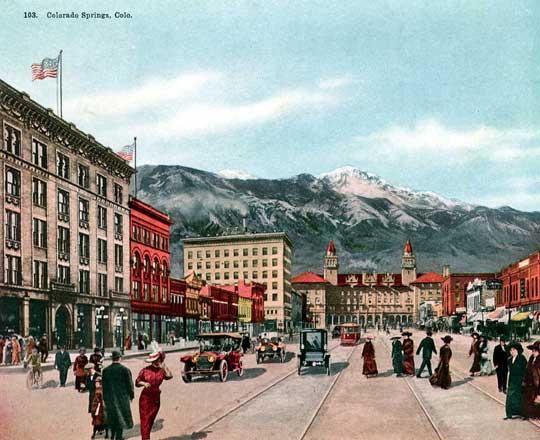 Colorado Springs (circa 1895-1900)